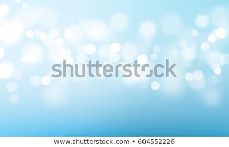 Mavi bokeh gece soyut örnek vektör Stok fotoğraf © derocz