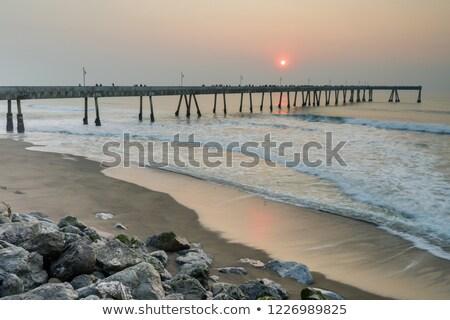 地方自治体の · 桟橋 · カリフォルニア · 米国 · 建物 · 風景 - ストックフォト © yhelfman