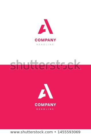 Logotipo carta símbolo assinar vetor Foto stock © blaskorizov