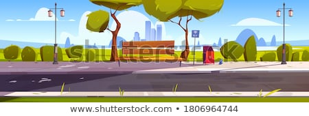 Litter in the park Stock photo © bluering