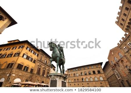 Firenze Italia statua cultura scultura Foto d'archivio © boggy
