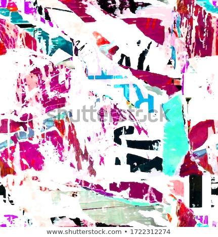 Colored algebra pattern Stock photo © netkov1