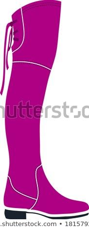 Hessian boots icon Stock photo © angelp