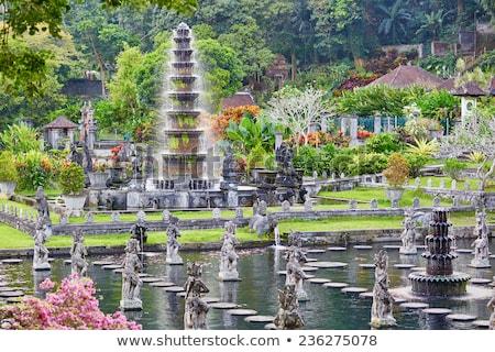 Tirta Gangga water palace at Bali, Indonesia Stock photo © boggy