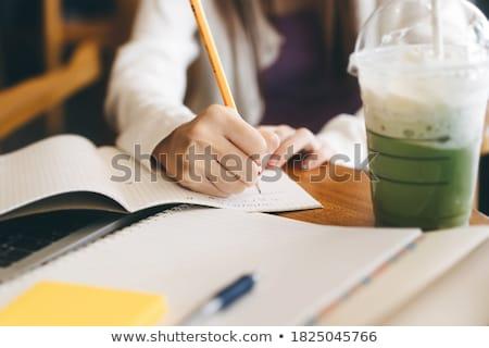 Students in cafe Stock photo © pressmaster