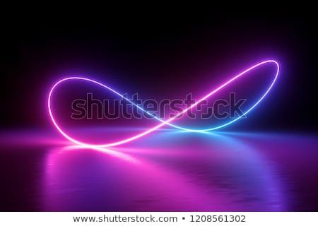 moderno · colorido · cartaz · onda · líquido - foto stock © sarts