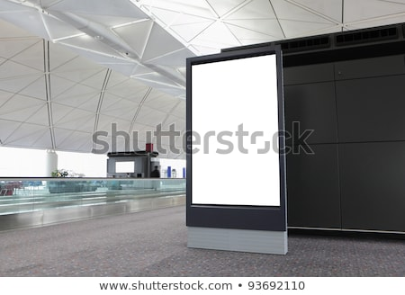 Blank panel display Stock photo © montego