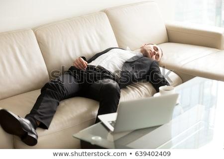 сотрудник работу домой бизнеса компьютер Сток-фото © Elnur