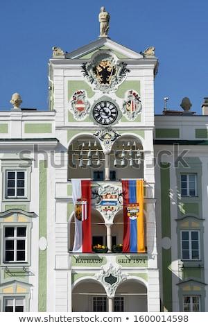 Mairie Autriche ville bâtiment été vert Photo stock © borisb17