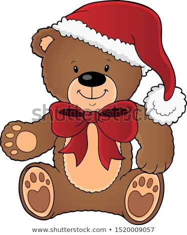 Christmas teddy bear topic image 1 Stock photo © clairev