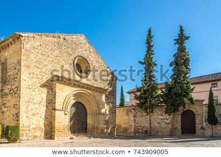 Church of Santa Cruz, Baeza, Spain Stock photo © borisb17