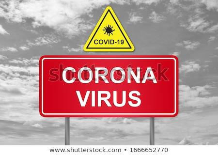 Banner coronavirus virus illustratie Stockfoto © feverpitch