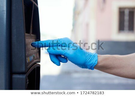 Homem estacionamento moço Foto stock © nito
