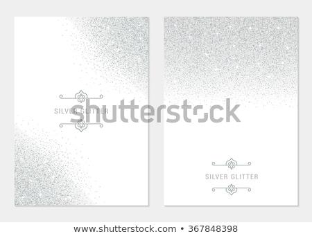 Diamond on glossy white background Stock photo © oneo