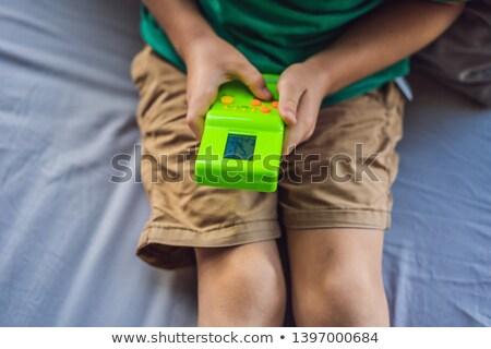 juego · consolar · blanco · ordenador · tecnología · vídeo - foto stock © adrian_n
