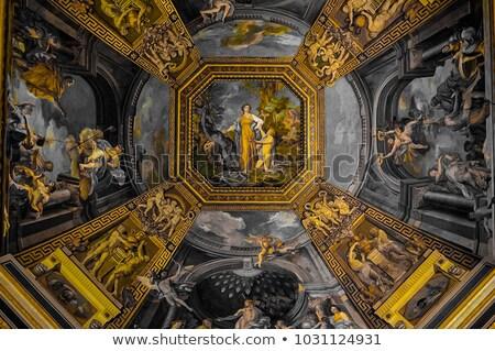 vaticano · museu · escada · Roma · Itália - foto stock © vichie81