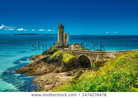 landscape, Brittany, France Stock photo © phbcz