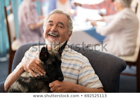 woman assisting a senior Stock photo © photography33