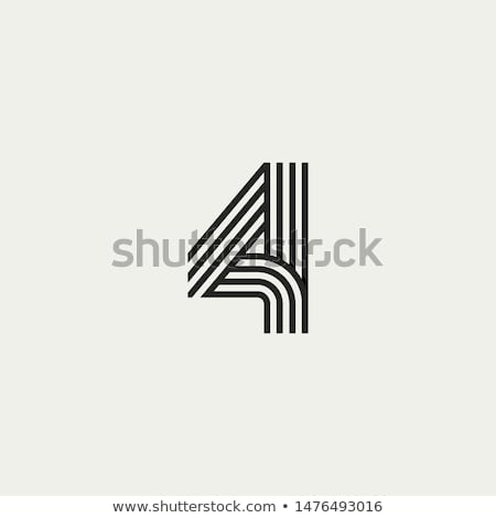 Number 4 Stock photo © cnapsys