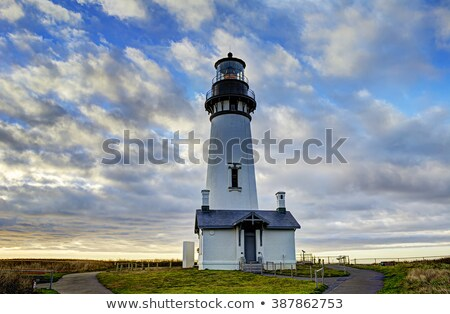 Fej világítótorony Oregon part Stock fotó © davidgn