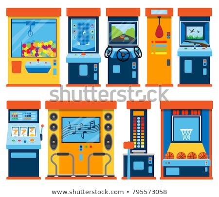 toy machines on white stock photo © pzaxe