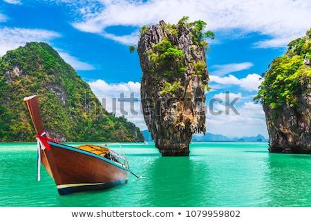 James Bond Island in Thailand Stock photo © RuslanOmega