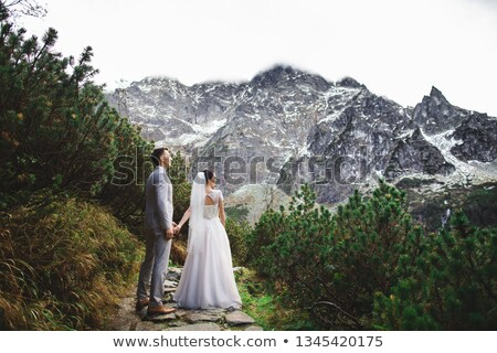 couple near a tree Stock photo © photography33