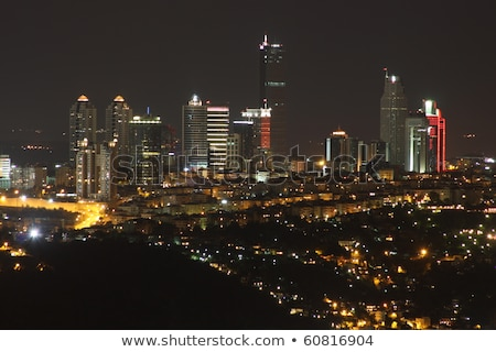 central istanbul by night Stock photo © travelphotography
