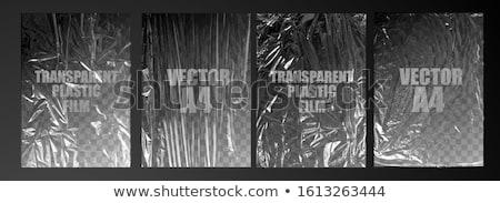 Plastique texture bleu blanche couleurs isolé Photo stock © Marcogovel