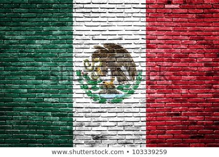 Meksyk · grunge · mexican · banderą · ilustracja · projektu - zdjęcia stock © creisinger