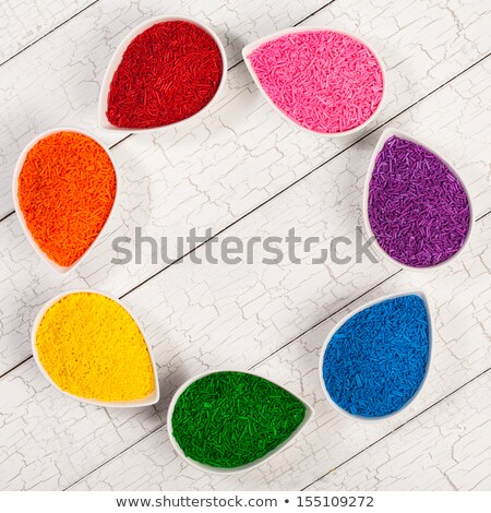 Multi Colored Sprinkles 'Jimmies' Stock photo © zhekos