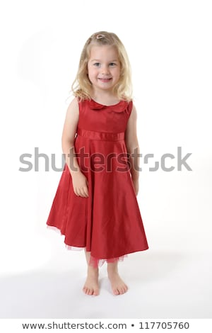 blonde little girl looking shy Stock photo © photography33