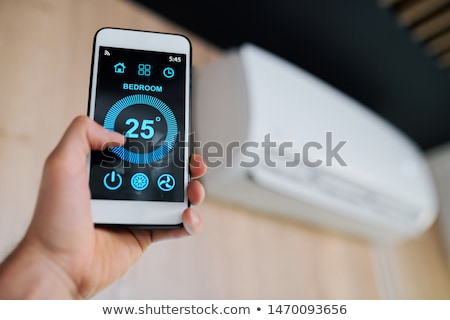 on air words on digital screen Stock photo © fotoscool