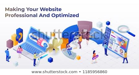 3D · домен · формат · бизнеса · технологий · поиск - Сток-фото © applicant79