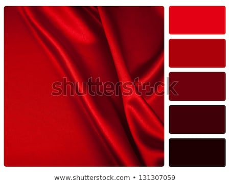 Red satin colour palette swatch Stock photo © REDPIXEL