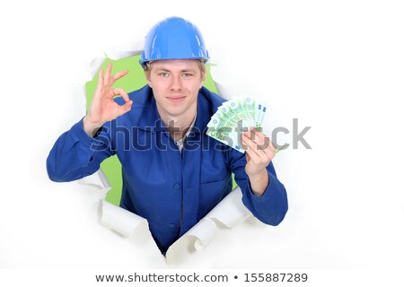 A hard-working tradesman earning an honest living Stock photo © photography33
