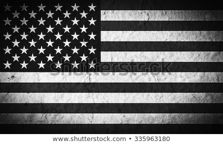 Crumpled and Wrinkled American Flag Background Stock photo © pixelsnap