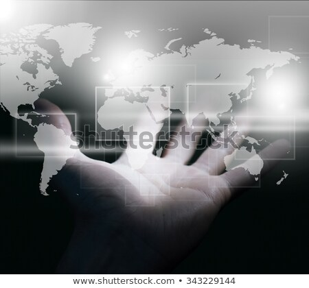 Communications power / World domination Stock photo © curvabezier