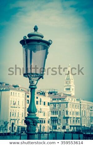 Old streetlight in Venice. Stock photo © Pilgrimego