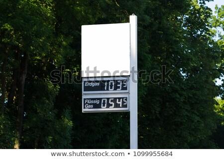 alto · jóquei · gasolina · bocal · ilustração - foto stock © dacasdo