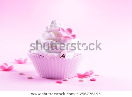 Pink and white cupcakes Stock photo © RuthBlack