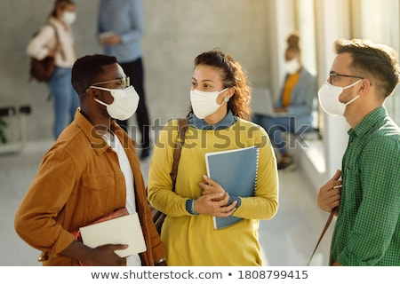 College Students Talking Stock photo © luminastock