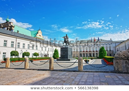 The Presidential Palace in Warsaw, Poland Stock photo © photocreo