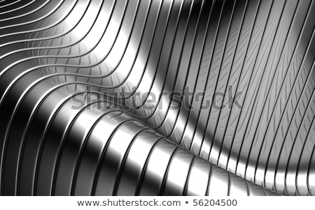 Stock photo: abstract steel shapes