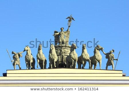 Grupo arco geral pessoal palácio praça Foto stock © Mikko