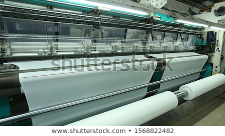 Rodar hilados primer plano rojo hilo lana Foto stock © diego_cervo