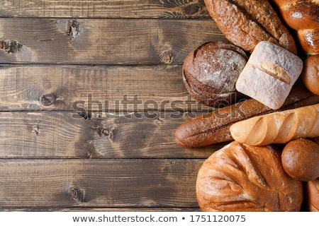 Bread On Wood Stock photo © cosma