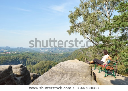 Saxon Switzerland with Lilienstein Stock photo © w20er