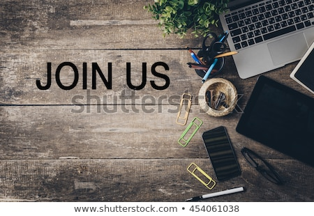 Join Us Mouse Concept Stock photo © ivelin