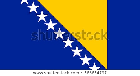 флаг · Босния · и · Герцеговина · белый · древесины · фон · путешествия - Сток-фото © zeffss